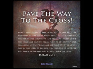 Pave The Way To The Cross